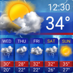 Download Free Weather Forecast App Widget 16.6.0.6243_50114 APK For Android