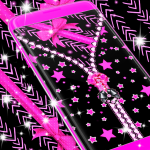 Download Locker black and pink 6.0 APK For Android