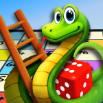 Download Snakes and Ladders - dice board game 21 APK For Android