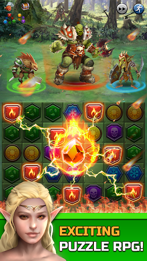 Download Dungeon Puzzles: Match 3 RPG 1.1.3 APK For Android