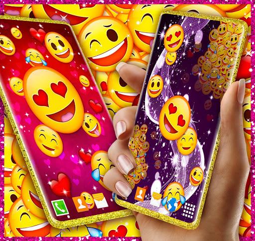 Download Emoji Live Wallpaper ❤️ Wink Emoji Hearts Themes 6.4.0 APK For Android