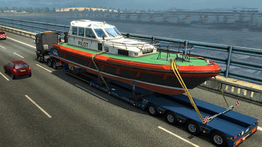 Download Euro Truck Boat Cargo Driving Simulator 2020 1.0.9 APK For Android