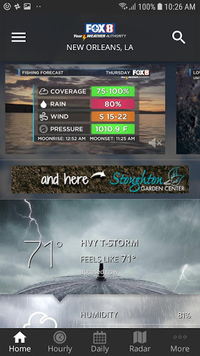 Download FOX 8 Weather 5.0.1100 APK For Android