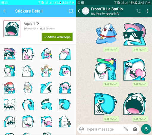 Download 🐟Fish Stickers Pack - WAStickersApps🐟 1.4 APK For Android