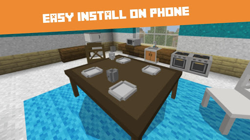 Download Furniture MODs for Minecraft PE 1.0.4 APK For Android