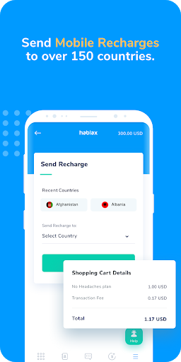 Download Hablax - Cellphone Recharge | Mobile Top-up 3.1.12 APK For Android