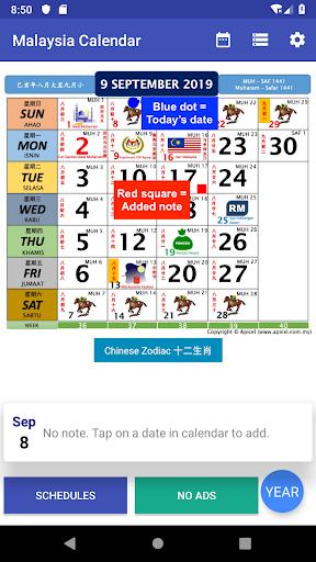 Download Malaysia Calendar 2021 /2020 Widget Gaji 6.10 APK For Android