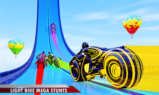 Download Mega Ramp Light Bike Stunts: New Bike Racing Games 2.1.1 APK For Android