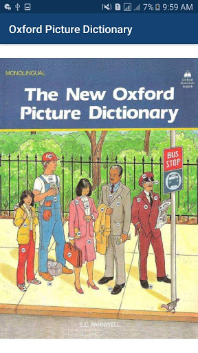 Download Oxford Picture Dictionary offline book app 2020 1.18 APK For Android
