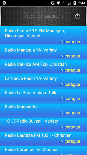 Download Radio FM Nicaragua 1.7 APK For Android