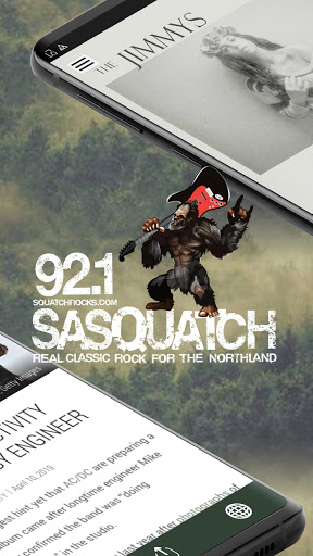 Download Sasquatch 92.1 - Duluth Classic Rock Radio (WWPE) 2.3.1 APK For Android