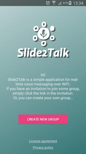 Download Slide2Talk: WiFi walkie-talkie / intercom 1.2.24 APK For Android