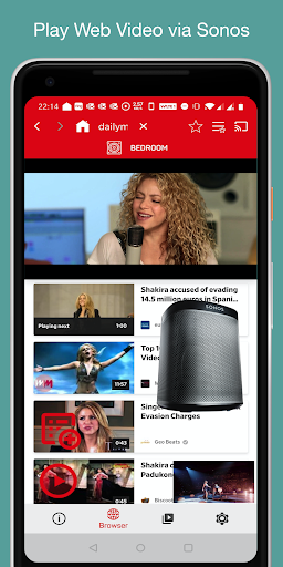 Download SonosWebs - Web Video & Audio Player for Sonos 1.1.3 APK For Android