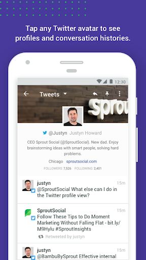 Download Sprout Social - Social Media 7.17.1-PLAYSTORE APK For Android