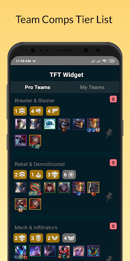 Download TFT Teamfight Tactics Widget Guide 1.0.2 APK For Android