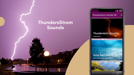 Download Thunderstorm Sound - Rain & Thunder Sounds 2.1 APK For Android