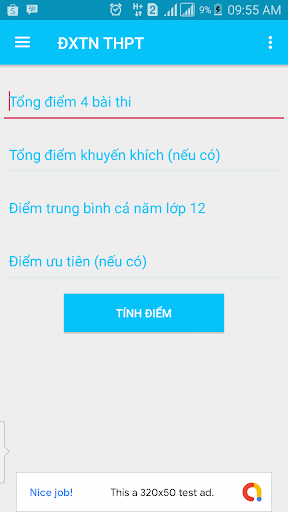 Download Tính điểm THPT 2020 4.0 APK For Android