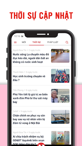 Download Vntime - Đọc Báo Mới, Tin Tức Nhanh 24h Qua 1.0.2 APK For Android