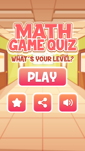 Download math game quiz 1.1.6 APK For Android