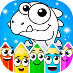 Coloring dinosaurs 1.4.5 APK For Android