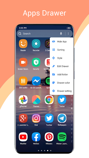 Download One S20 Launcher - S20 Launcher one ui 2.0 style 1.2 APK For Android