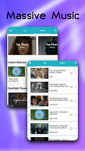 Download Blue Music - Enjoy Your Music World 4.2.0 APK For Android