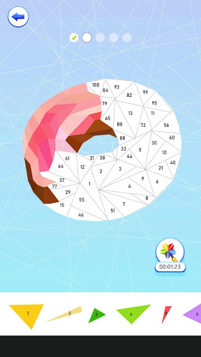 Download PolyArt: Poly shape art book with triangle puzzles 2020.09.30 APK For Android