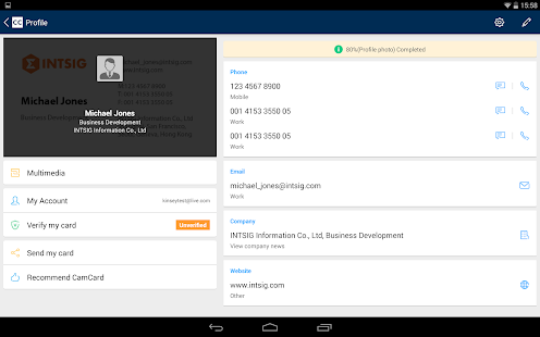 Download CamCard - Business Card Reader 7.38.7.20201116 Apk for android