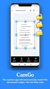 Download CamGo - Doc Scanner & PDF Scanner (Made In India) 1.8 Apk for android