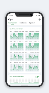 Download CPU Monitor - temperature, usage, performance 8.0.8 Apk for android