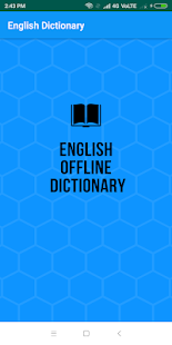 Download English Dictionary Offline 1.3 Apk for android