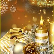 Download Gold Christmas Theme Gold Apk for android