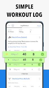 Download Hevy - Workout Tracker Planner Weight Lifting Log 1.21.3 Apk for android