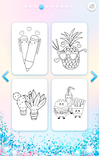 Download Kawaii Coloring Book Glitter 1.3.0.4 Apk for android