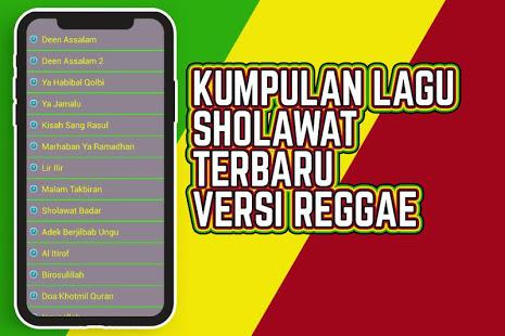 Download Lagu Sholawat Reggae Offline Terbaru 4.1.3 Apk for android