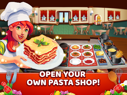 Download My Pasta Shop - Italian Restaurant Cooking Game 1.0.5 Apk for android