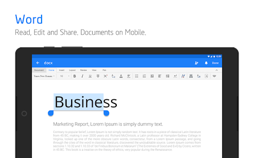 Download Polaris Office - Free Docs, Sheets, Slides + PDF 9.0.11 Apk for android