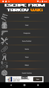 Download Wiki for Escape From Tarkov 2.6.6 Apk for android
