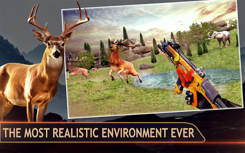 Download Wild Deer Hunter :Sniper Animal Shooting 3D Games 5.0 and up Apk for android