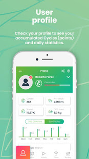 Download Ciclogreen - gifts for your sustainable mobility 13.5 Apk for android