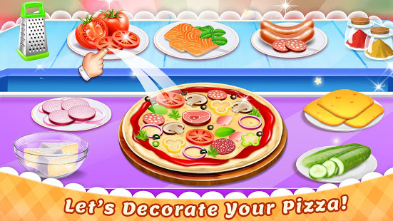 Download Cooking Pizza Maker Kitchen Food Cooking Games 0.12 Apk for android