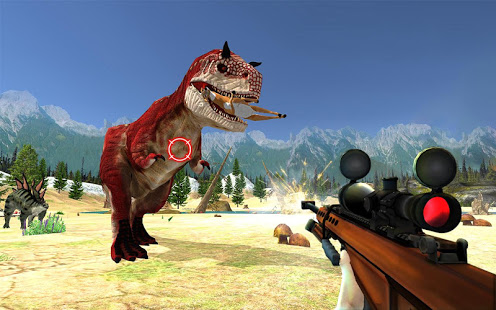Download Dinosaur Hunter Sniper Jungle Animal Shooting Game 2.6 Apk for android