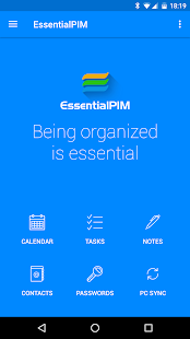 Download EssentialPIM - Your Personal Information Manager 5.7.4 Apk for android