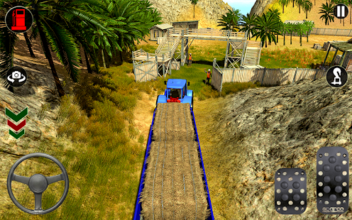Download Indian Tractor Trolley Off-road Cargo Drive Game 1.0.2 Apk for android