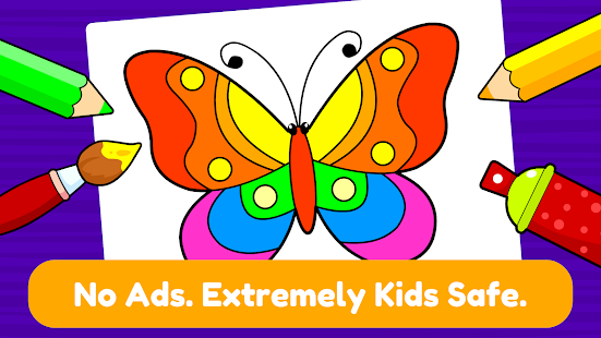 Download Learning & Coloring Game for Kids & Preschoolers 2.2 and up Apk for android