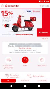 Download Mi Tarjeta Santander 3.2.4 Apk for android