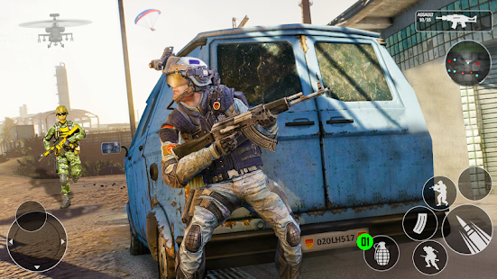 Download Modern Gun Strike OPS 2021 - FPS Shooting Games 1.0.15 Apk for android