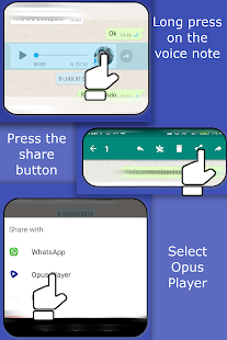 Download Opus Player - WhatsApp Audio Search and Organize 2.4.6 Apk for android