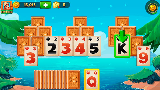 Download Solitaire Tripeaks - Lost Worlds Adventure 4.2 Apk for android