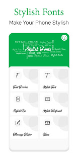 Download Stylish Fonts 1.47 Apk for android